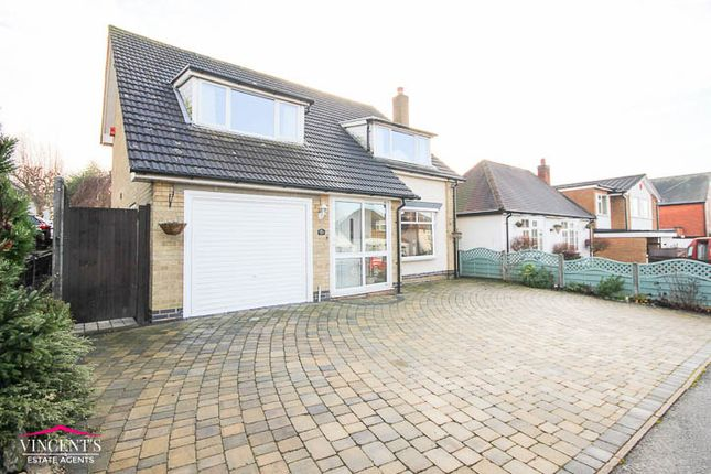 Thumbnail Detached house for sale in Ashleigh Road, Glenfield, Leicester
