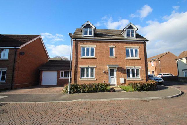 Thumbnail Detached house for sale in Leventon Place, Paxcroft Mead, Hilperton, Wiltshire