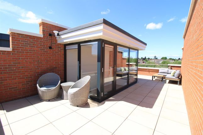 Thumbnail Flat for sale in Penthouse, Albury Place, Shrewsbury
