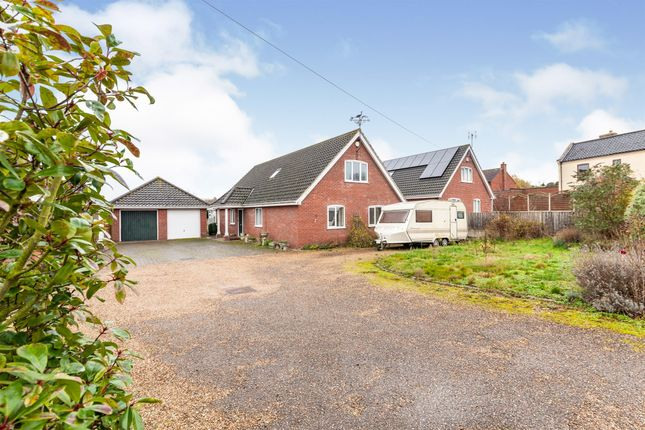 Thumbnail Detached house for sale in Station Road, Ditchingham, Bungay