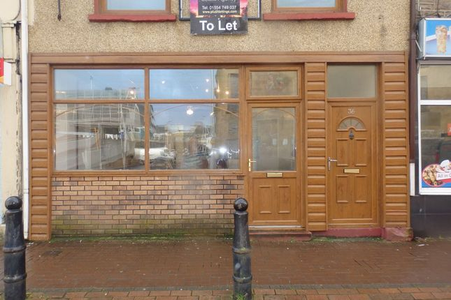 Thumbnail Retail premises to let in Murray Street, Llanelli
