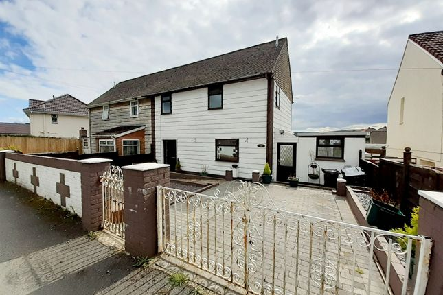 Thumbnail Semi-detached house for sale in Linden Way, Trefechan, Merthyr Tydfil, Merthyr Tydfil