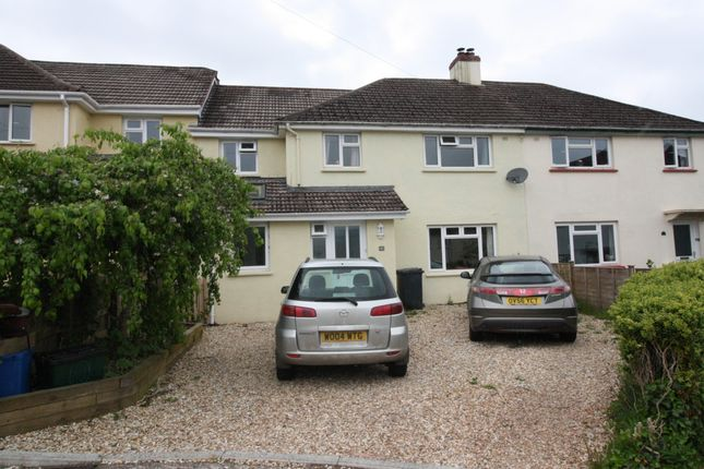 Thumbnail Terraced house for sale in Courtfield Close, West Hill, Ottery St. Mary
