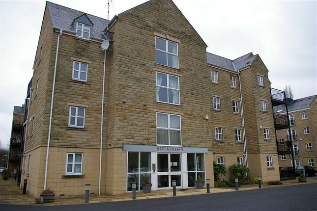Thumbnail Flat for sale in The Riverine, Canal Wharf, Sowerby Bridge