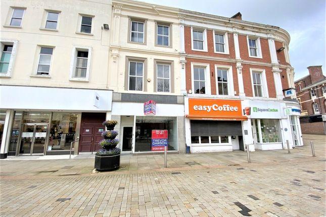 Retail premises to let in King William Street, Guide, Blackburn