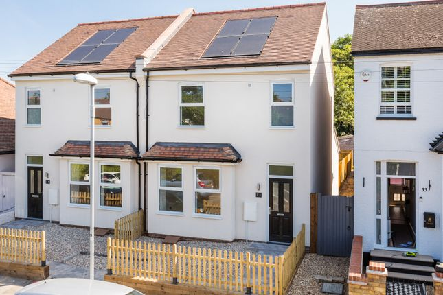 Thumbnail Semi-detached house for sale in Lenelby Road, Surbiton