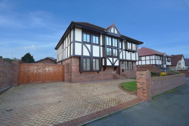 Thumbnail Detached house for sale in Holywell Crescent, Kinmel Bay