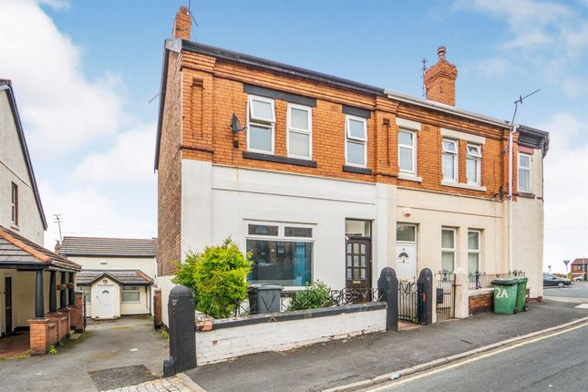 Thumbnail End terrace house for sale in North Road, Tranmere, Birkenhead