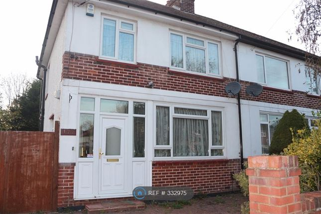 Thumbnail Semi-detached house to rent in Blumfield Crescent, Slough