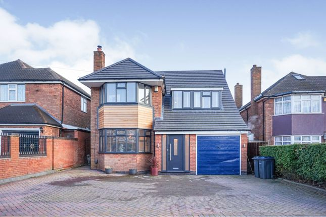 Thumbnail Detached house for sale in Little Sutton Road, Sutton Coldfield
