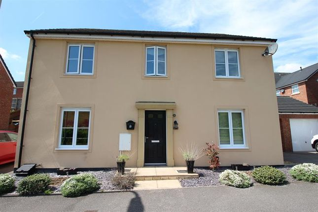Thumbnail Detached house for sale in Griffin Drive, Penallta, Hengoed