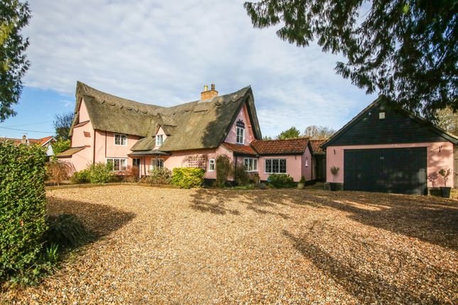 Thumbnail Cottage for sale in The Street, Barton Mills, Bury St. Edmunds