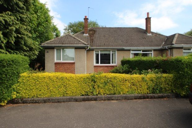 Thumbnail Semi-detached bungalow to rent in Dalhousie Gardens, Glasgow