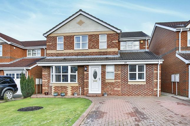 Thumbnail Detached house for sale in Brantwood, Chester Le Street