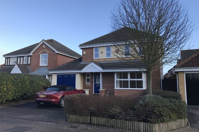 Thumbnail Detached house to rent in Bentley Close, Quedgeley, Gloucester