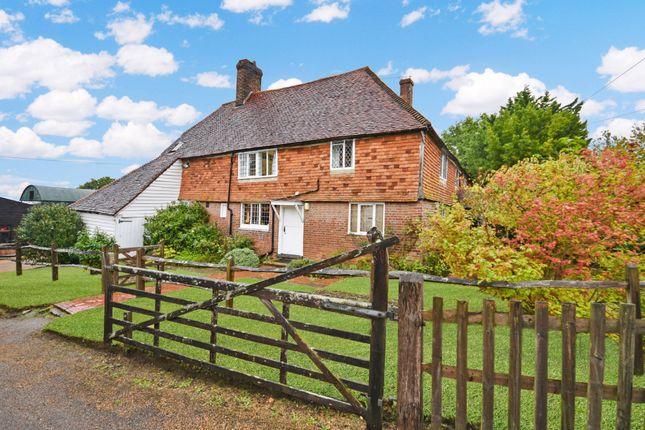Thumbnail Farmhouse for sale in Goudhurst Road, Cranbrook