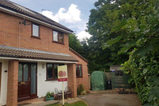 Thumbnail Semi-detached house to rent in The Glebe, Wrington, Bristol