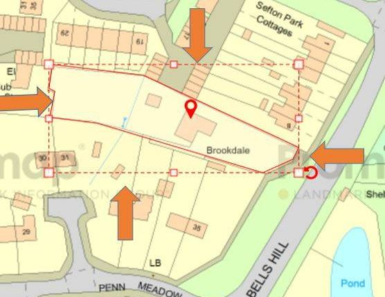 Thumbnail Commercial property for sale in Brookdale, Bells Hill, Stoke Poges