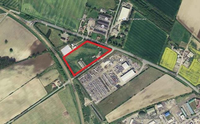 Land for sale in York Road, Market Weighton