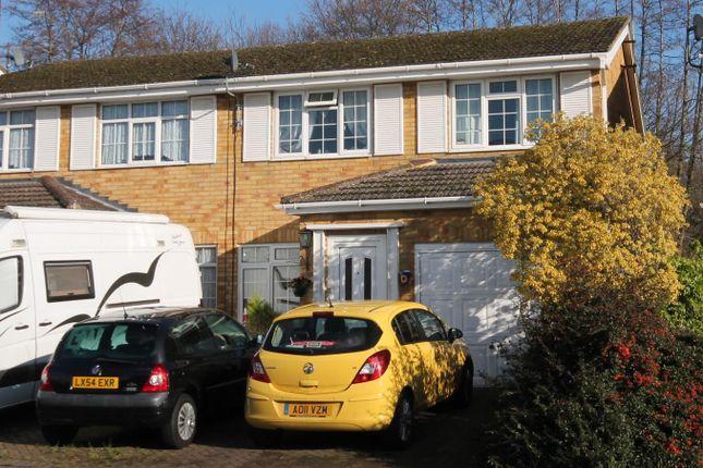 Thumbnail Semi-detached house for sale in Saltram Road, Farnborough
