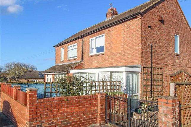 Thumbnail Semi-detached house for sale in March Road, Dudley, Cramlington