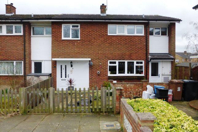 Thumbnail End terrace house for sale in Park Close, Stevenage