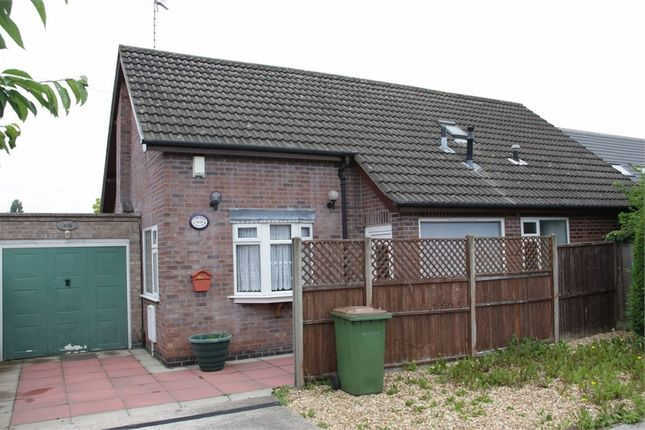 Thumbnail Detached bungalow for sale in Dominion Road, Glenfield, Leicester