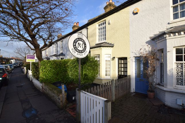 Thumbnail Terraced house to rent in Sandycombe Road, Richmond