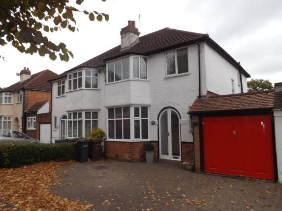 Thumbnail Semi-detached house for sale in Stanway Road, Shirley, Solihull, West Midlands