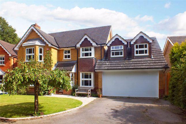 Thumbnail Detached house for sale in Levignen Close, Church Crookham, Fleet, Hampshire