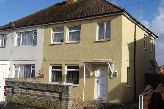 Thumbnail Semi-detached house to rent in Bridgemary Road, Gosport