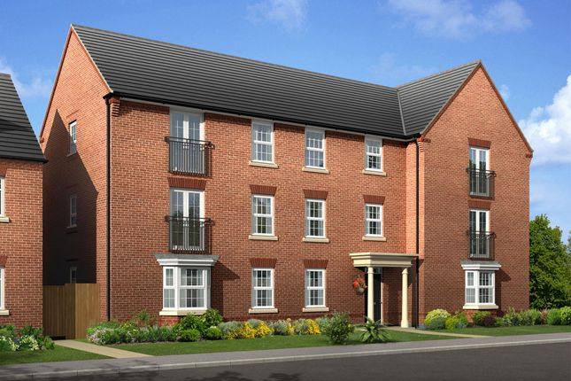 "Thumbnail Flat for sale in ""Low Cost Apartment"" at Caledonia Road, Off Kiln Farm, Milton Keynes"