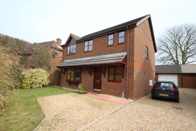 Thumbnail Detached house to rent in Long Barrow Close, South Wonston, Winchester