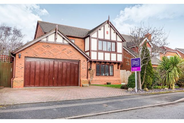 Thumbnail Detached house for sale in Pembroke Drive, Wellington, Telford