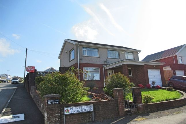 Thumbnail Detached house for sale in Highfield Close, The Rhyddings, Neath, West Glamorgan