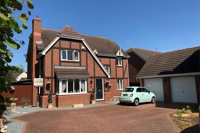 Thumbnail Detached house for sale in Chamberlain Way, St. Neots