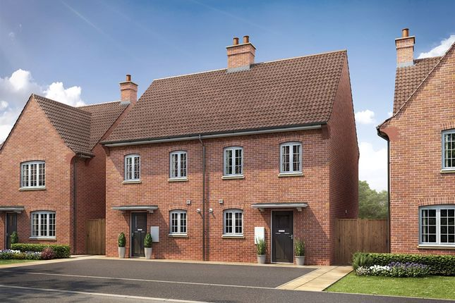 """Thumbnail Semi-detached house for sale in """"The Harlington"""" at Kiln Drive, Stewartby, Bedford"""