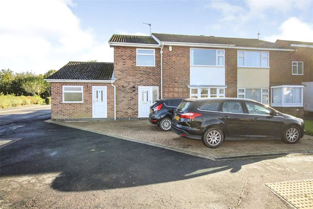 Thumbnail Semi-detached house for sale in Pembroke Avenue, Syston, Leicester
