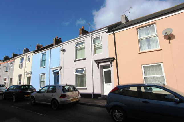 Thumbnail Terraced house to rent in Wellington Street, Torpoint, Cornwall