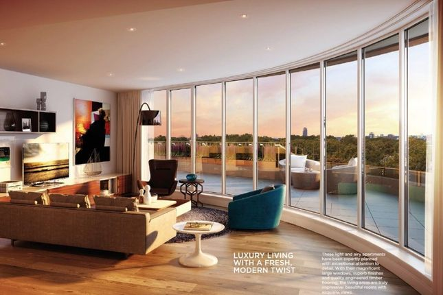 Thumbnail Flat for sale in Chelsea Vista The Cascades, London