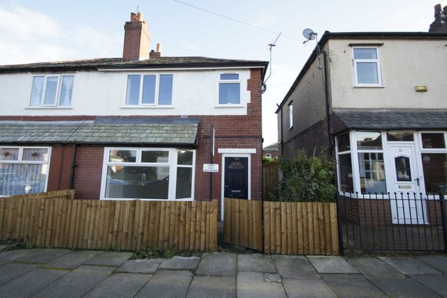 Thumbnail Semi-detached house to rent in Rowsley Avenue, Bolton