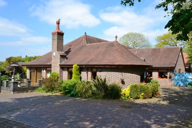 Thumbnail Detached bungalow for sale in Newcastle Road, Loggerheads, Market Drayton
