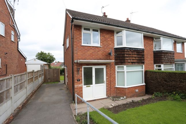 Thumbnail Semi-detached house to rent in Beverley Crescent, Forsbrook