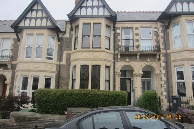 Thumbnail Terraced house to rent in Ty-Draw Place, Roath, Cardiff