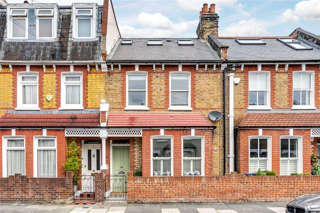 Thumbnail 3 bed terraced house for sale in Horder Road, Fulham, London