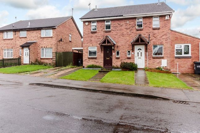 Thumbnail Semi-detached house for sale in Heatherbrook Road, Anstey Heights, Leicestershire LE41Al