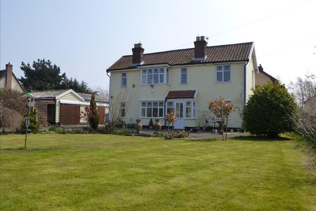 Thumbnail Detached house for sale in Long Stratton Road, Forncett St. Peter, Norwich