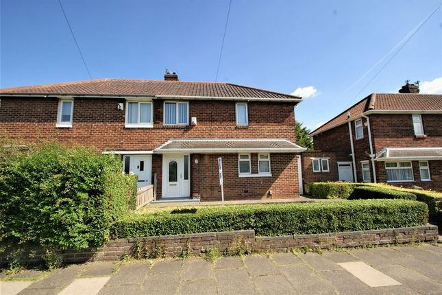 Thumbnail Semi-detached house for sale in Crossfell Road, Middlesbrough