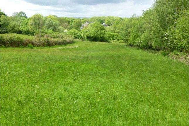 Land for sale in Trap Road, Ffairfach, Llandeilo, Carmarthenshire