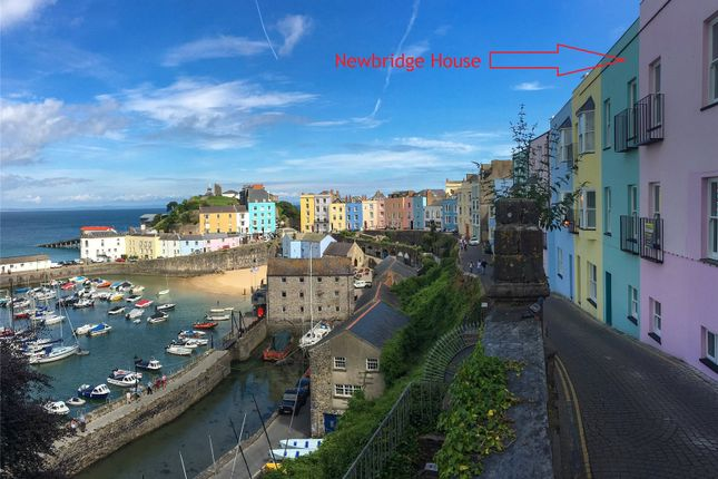Thumbnail Flat for sale in Flat 1, Newbridge House, Crackwell Street, Tenby